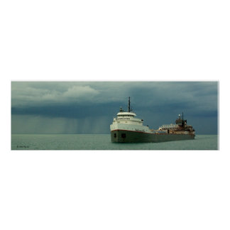 Lake freighter squall poster