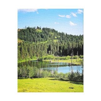 Lake from Sun Mountain Wagon Ride Canvas Print