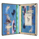Lake Fun Labradors Painting iPad Air Covers