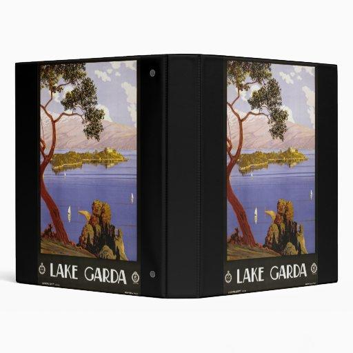 Lake Garda 3 Ring Binder
