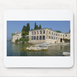 Lake Garda is the largest lake in Italy Mouse Pad