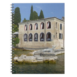 Lake Garda is the largest lake in Italy Notebook