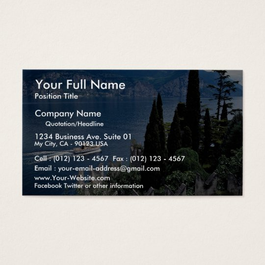 Lake Garda, Italy Business Card