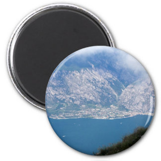Lake Garda 2 Inch Round Magnet