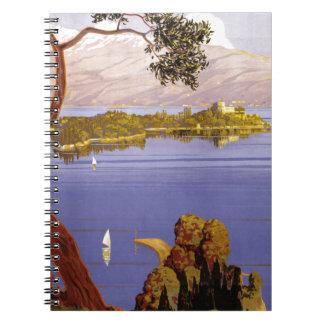 Lake Garda Spiral Notebook