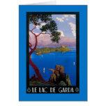 Lake Garda Travel Promotional Poster Card
