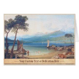Lake Geneva and Mount Blanc Joseph Mallord William Card