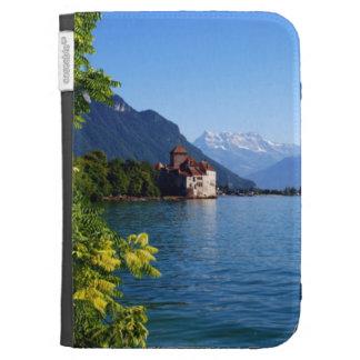 Lake Geneva Chateau Chillon Kindle Keyboard Case