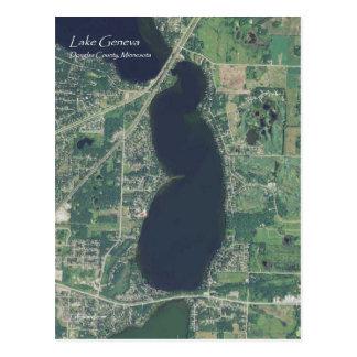 Lake Geneva Postcard