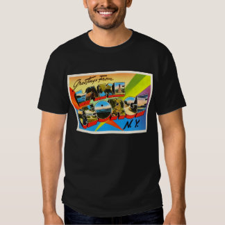 Lake George New York NY Vintage Travel Souvenir T Shirt