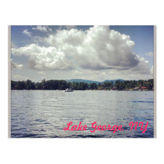 Lake George, NY Postcard