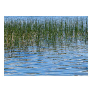 Lake Grasses Large Business Card