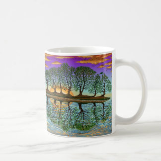 lake_guitar_mug classic white coffee mug