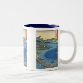 Lake Hamana Totomi Art Mug