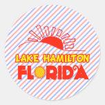 Lake Hamilton, Florida Round Sticker