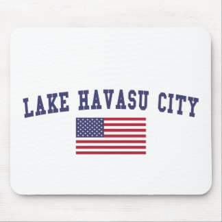 Lake Havasu City US Flag Mouse Pad