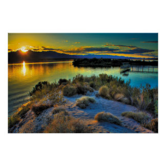 Lake Havasu Sunset Poster