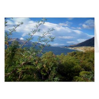Lake Hawea, New Zealand Card