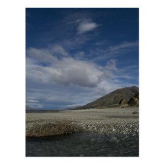 lake hawea postcard