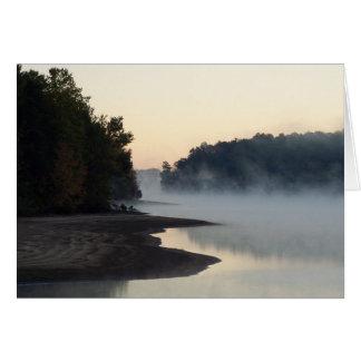 Lake Higgins Greensboro & Summerfield NC Greeting Card