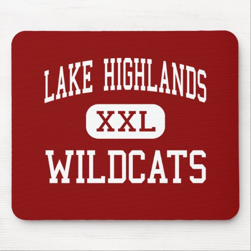 Lake Highlands - Wildcats - High - Dallas Texas Mouse Mats