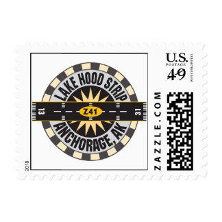 Lake Hood Strip Alaska Z41 Airport Postage Stamps