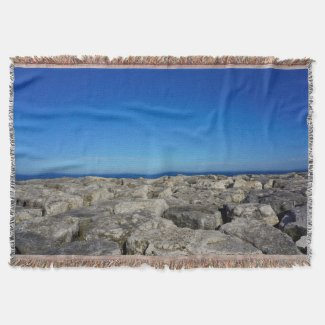 Lake House Decor, Lake Blanket or Your Photo