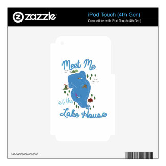 Lake House iPod Touch 4G Skin