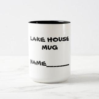Lake House Name Mug
