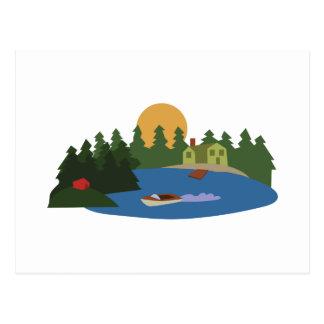 Lake House Postcard