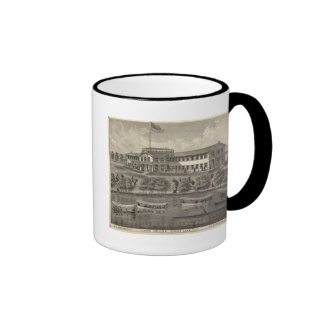 Lake House, Spring Lake, NJ Ringer Mug