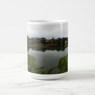 Lake houses in Taiwan Coffee Mug