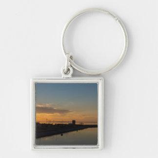 Lake Huron Golden Morning Keychain