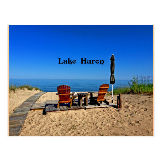 Lake Huron Postcard