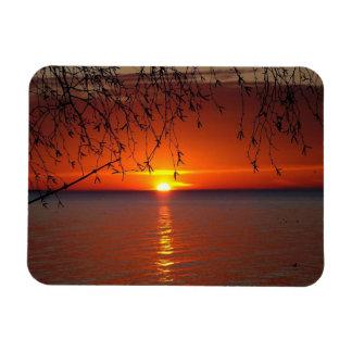 Lake Huron Rectangular Photo Magnet