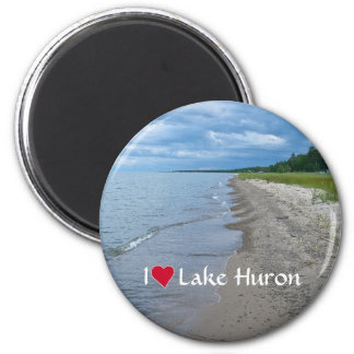 Lake Huron Summer Beach Magnet