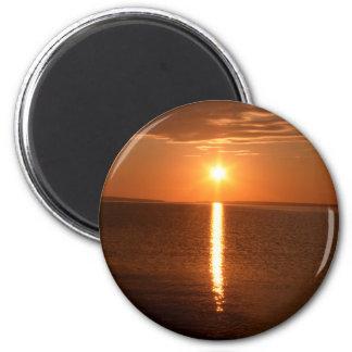 Lake Huron Sunrise Magnet