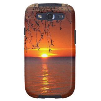 Lake Huron sunset Galaxy SIII Covers