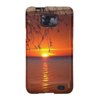 Lake Huron sunset Samsung Galaxy S2 Case
