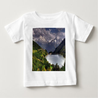 Lake In A Valley Baby T-Shirt