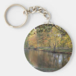 Lake In Autumn Keychain