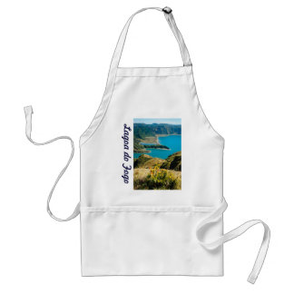 Lake in Azores islands Adult Apron