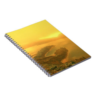 Lake in Azores islands Note Books