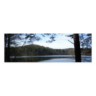 Lake in Brandenburg, Germany Bookmark Business Card