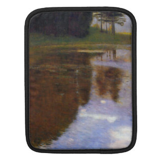 Lake in front of the Castle by Gustav Klimt iPad Sleeve