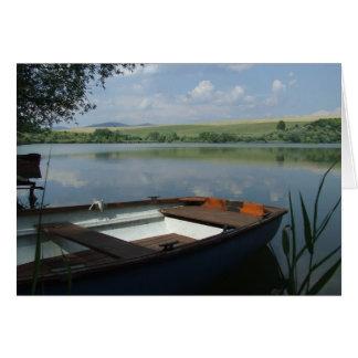 """Lake in Hungary"" Card"