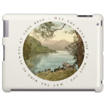 Lake in Kerry Ireland with Irish Blessing at Zazzle