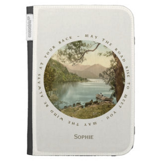 Lake in Kerry Ireland with Irish Blessing Kindle Covers