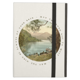 Lake in Kerry Ireland with Irish Blessing iPad Air Covers
