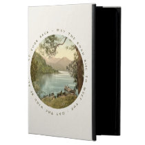 Lake in Kerry Ireland with Irish Blessing Cover For iPad Air at Zazzle